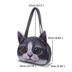 Bolsos cara de gato