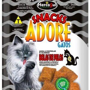 Adore Snacks Gatos Adultos Pelos Largos 80g