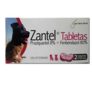 Zantel 2 Tabletas x 625 mg