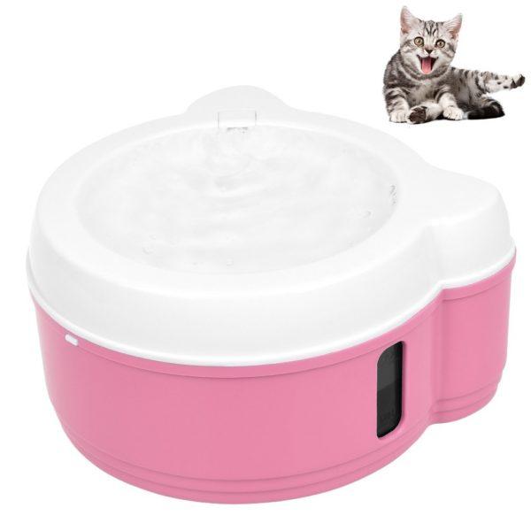 Fuente rosada pequeña