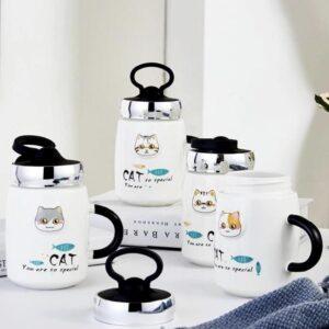 Cat mugs portacelular