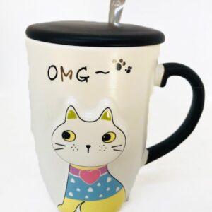 Cat mugs azucarero