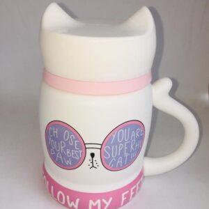 Cat mugs gafas