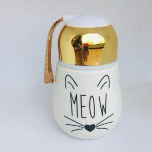 Cat Termo tapa dorada
